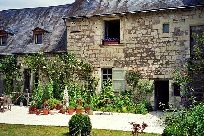 La maison louis richard champfreau saumur france manor for Maison richard